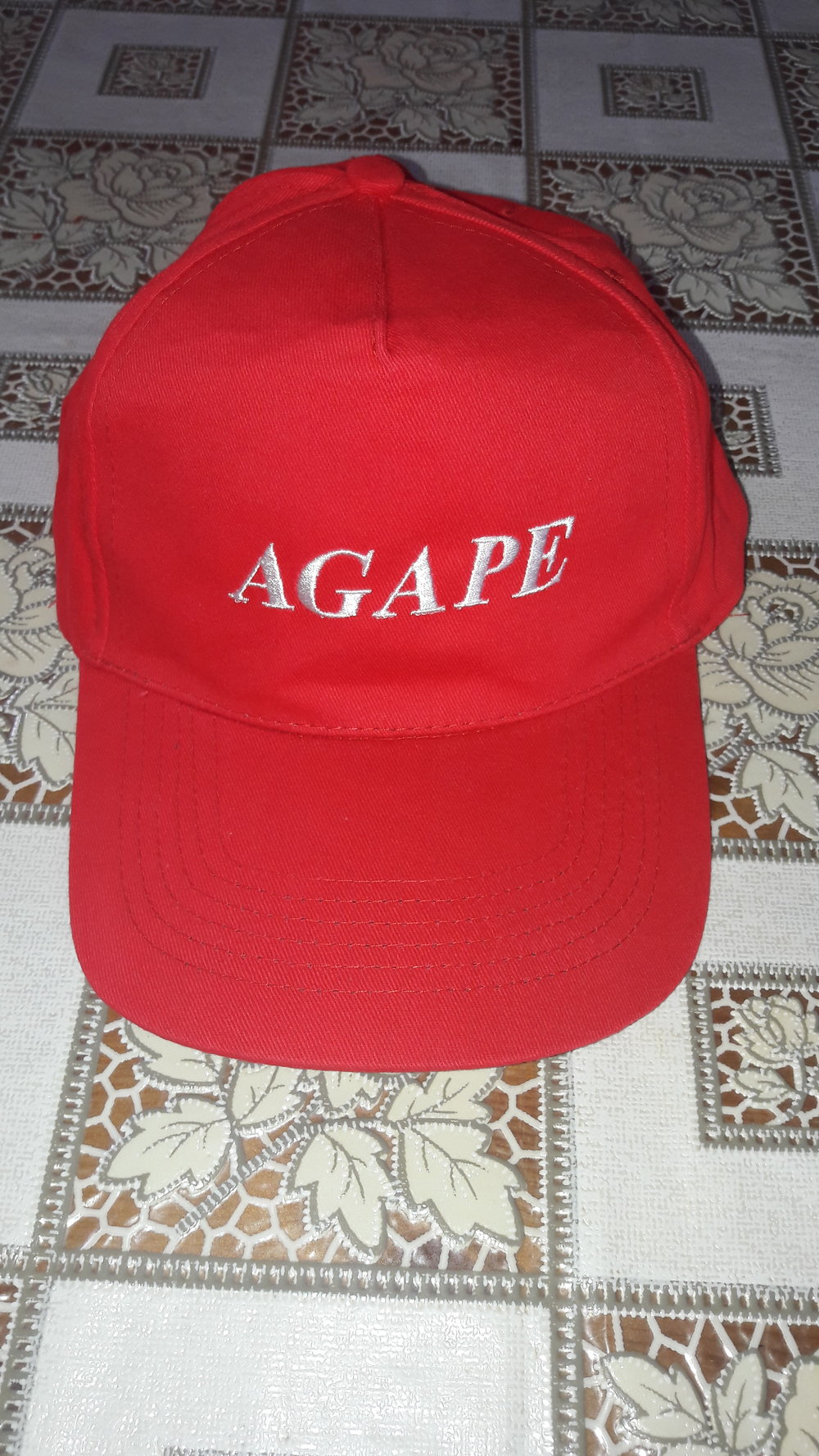 #tx 170020 aGAPE cAP (RED OR BLUE)  dONATION: $20 usd