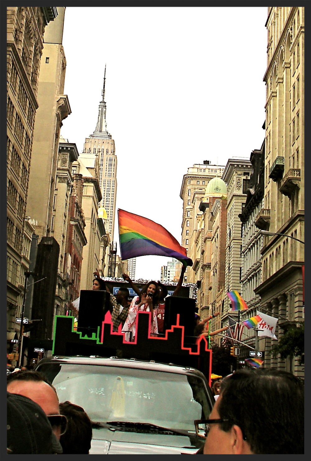 Gay Pride Parade, NYC, 2012.  Copyright Laura A. Jacobs