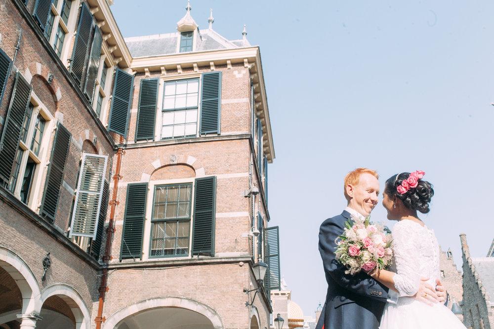 Bruidsfotografie Binnenhof Den Haag
