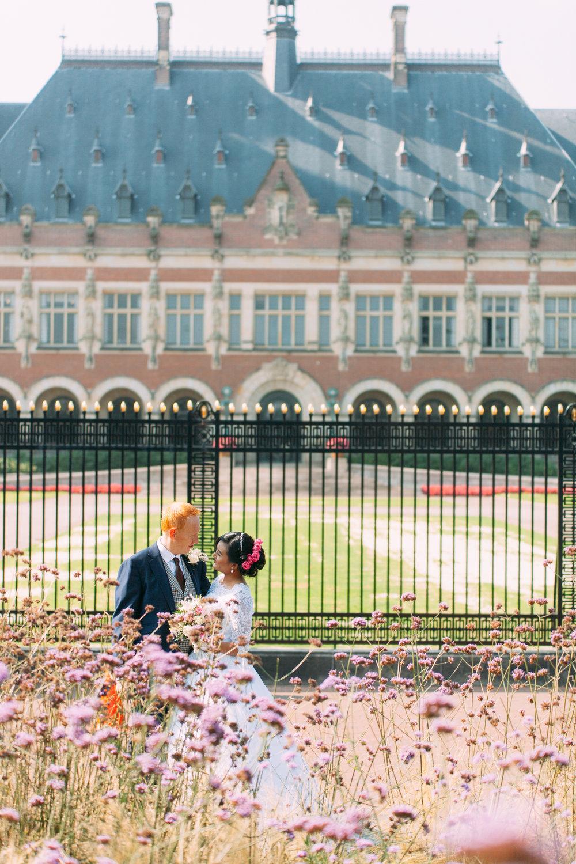 Trouwfotograaf Vredespaleis Den Haag