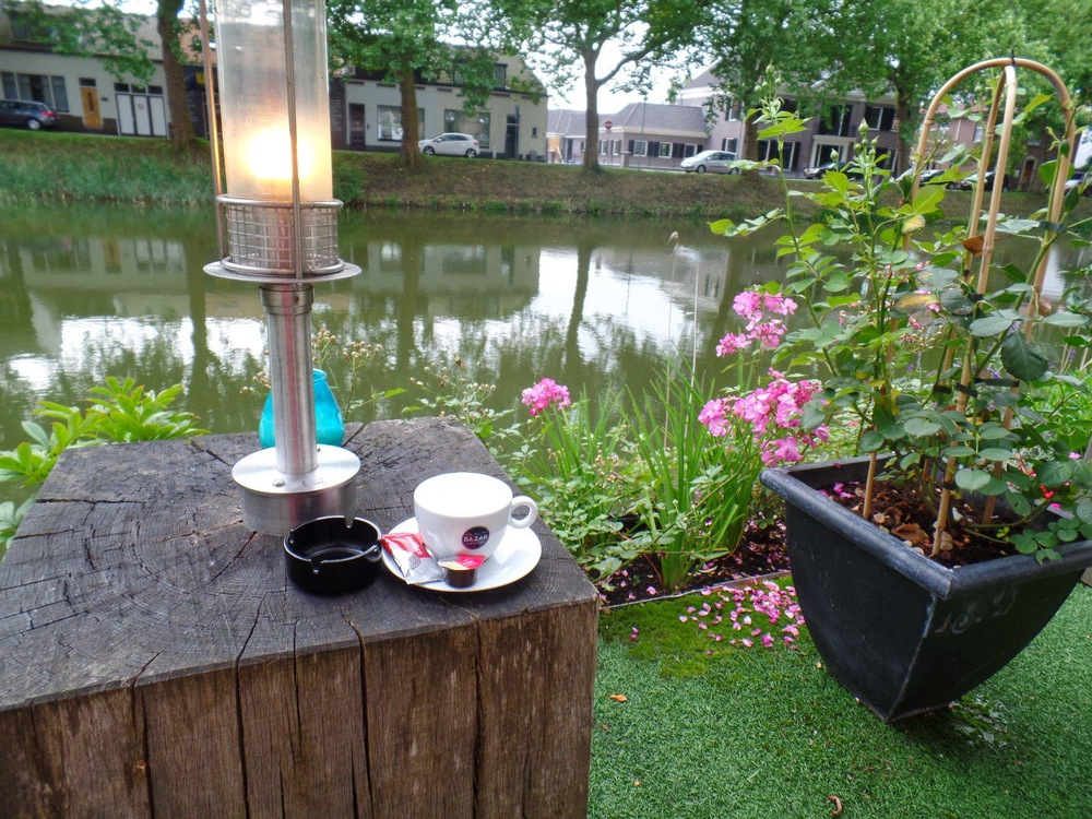 Goes - a nice spot to kill some time with a coffee