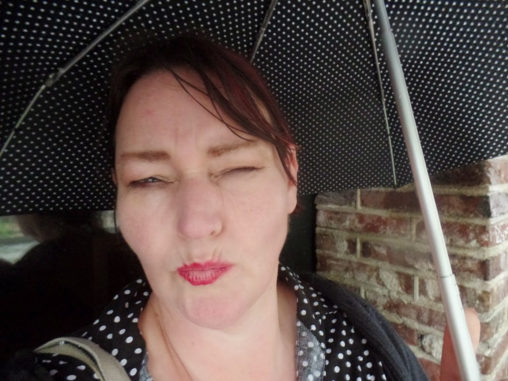 My 'will this rain ever end' face