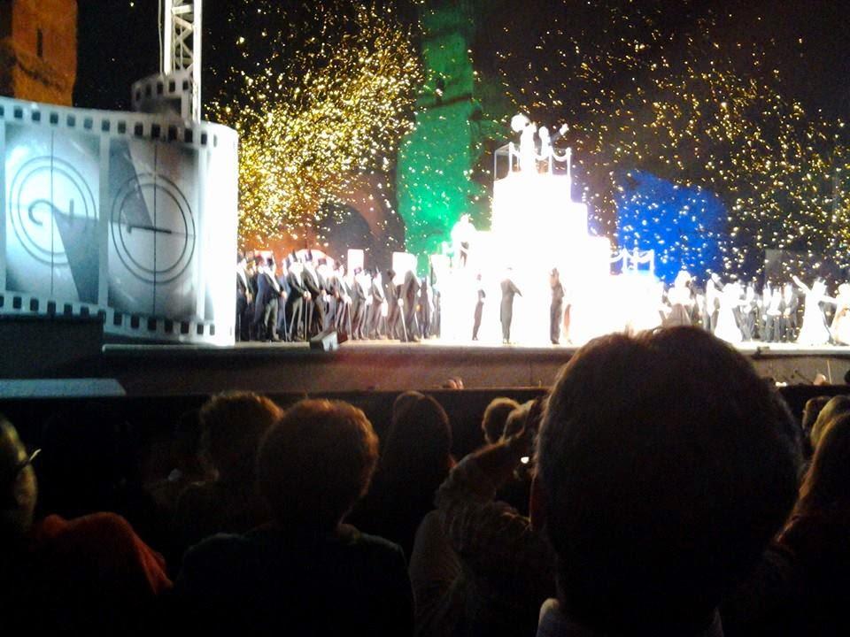 The opera finale