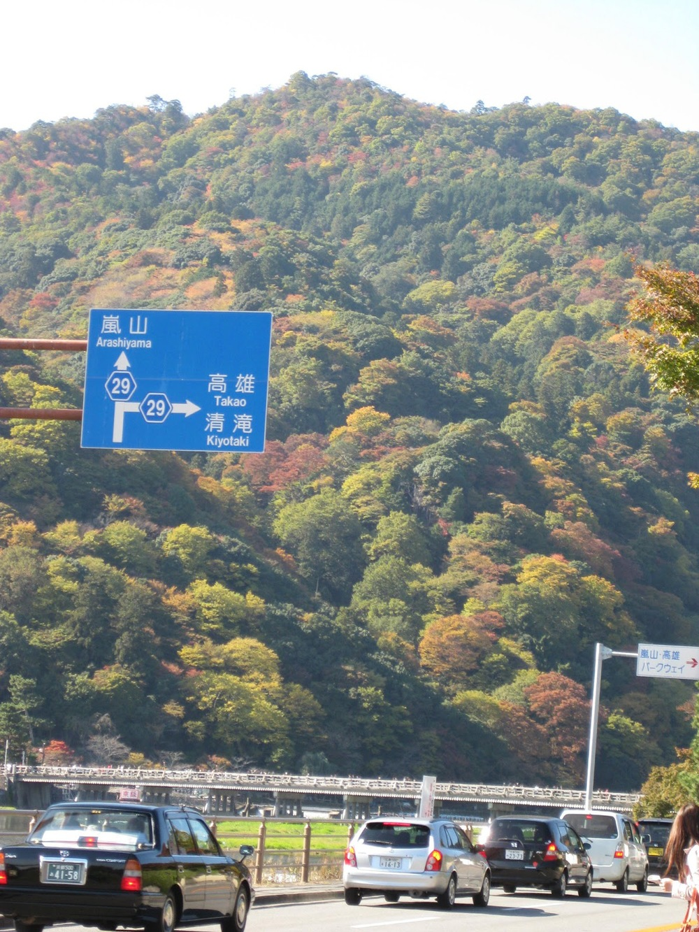 Arashiyama in autumn