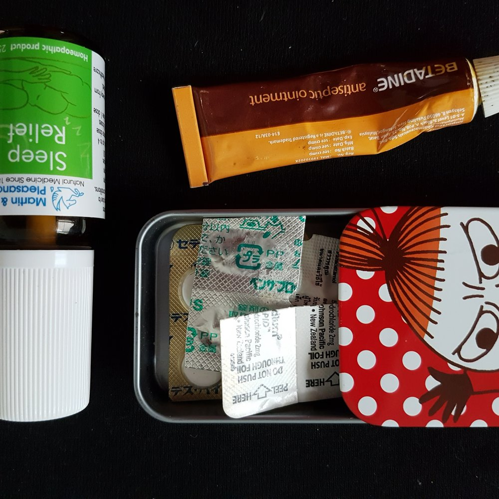 How to minimise your medical first aid kit when travelling