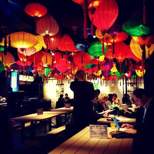 Lunch in shinjuku.  #lunch #tokyolife #tokyotravel  #shinjuku #traveljapan #lanterns #redlanterns #explorejapan #japaneselife