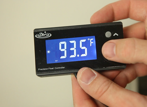 New totally silent solid state temperature controller with 0.5 degree adjustments