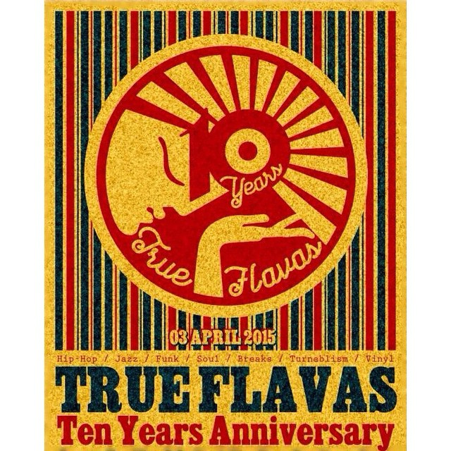 🚩Tonight: TRUE FLAVAZ! Ten Years Anniversary 🙌😎 Saint-Petersburg 🌃 I will play special birthday Hip-Hop set. Don't miss out! Ez.. 🔊🔊🔊