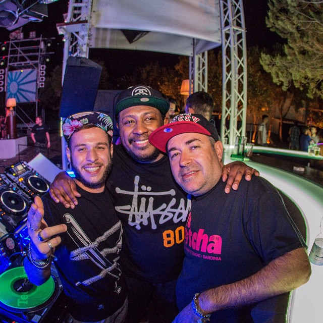 #TBT Me with Marky and Mr. A Sides at SUNANDBASS 2014