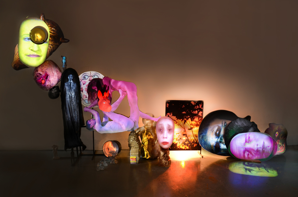 Tony Oursler, Oxt Variations (2012)