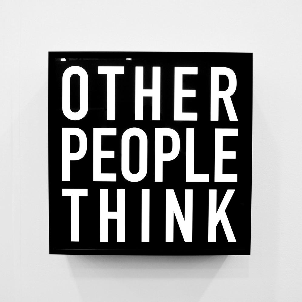 Alfredo Jaar, Other People Think (2012)