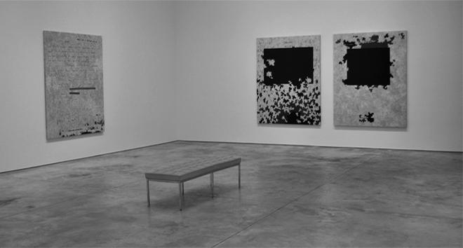 Jenny Holzer, Dust Paintings (2014)