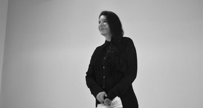 Marina Abramović, Future Feminism (2014)