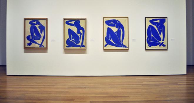 Henri Matisse, Blue Nude I, II, III, IV (1952)