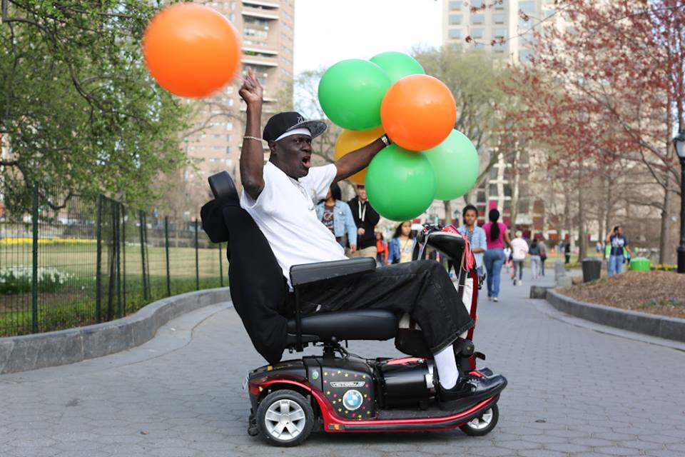 """humansofnewyork :     """"I've taken thousands of photos of people in New York, and I find out a little bit about…"""" """"I'm Hustle Man! That's all you need to know."""""""
