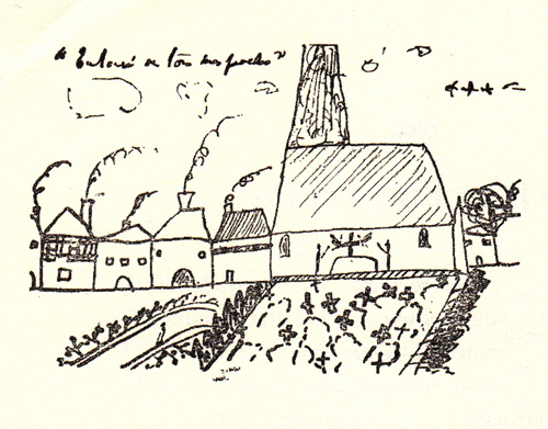 explore-blog :     For Proust's birthday today, his  previously unknown illustrated poems .     This.