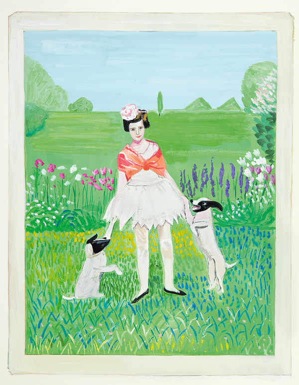 explore-blog :       Girls Standing on Lawns   –  a wonderfully quirky collaboration between Maira Kalman, Daniel Handler, and   MoMA       YES.