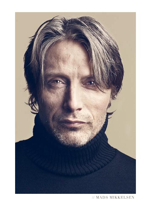 Mads Mikkelsen photographed by  Soren Ronholt