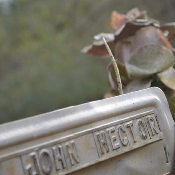 RIP John Hector     — Dorn