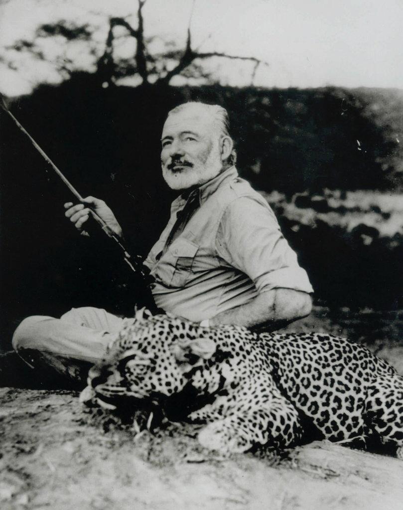 gjvdbent: Hemingway Hemingway stood to write, but sat to fish.
