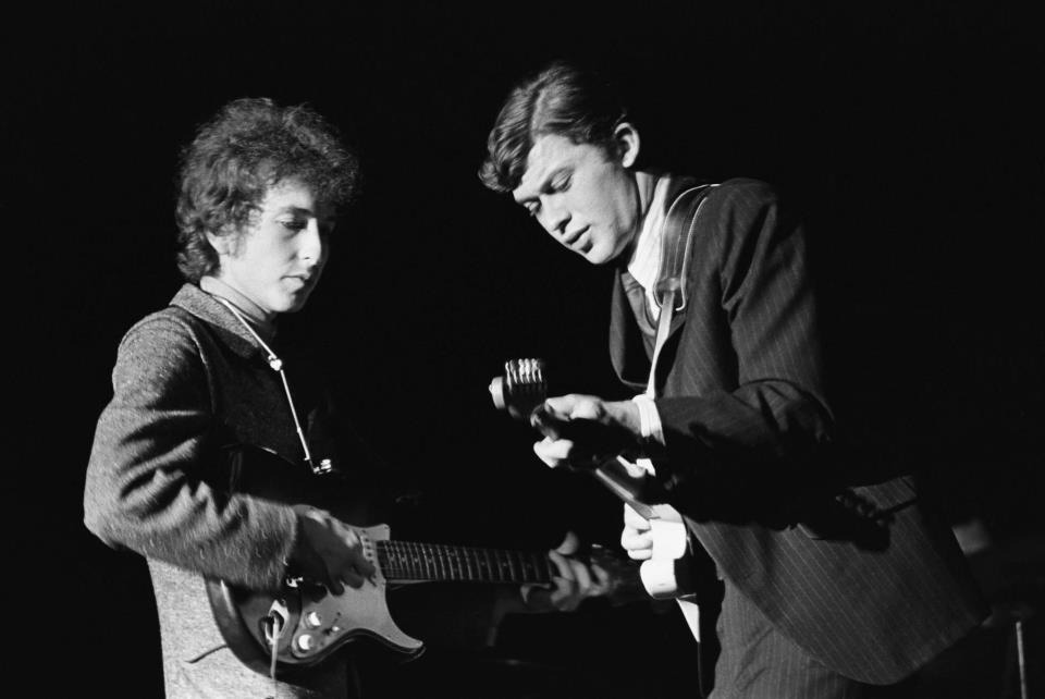 Dylan and Robertson, 1965
