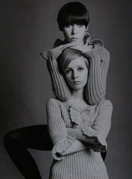 Peggy Moffitt and Twiggy: The original Supermodels