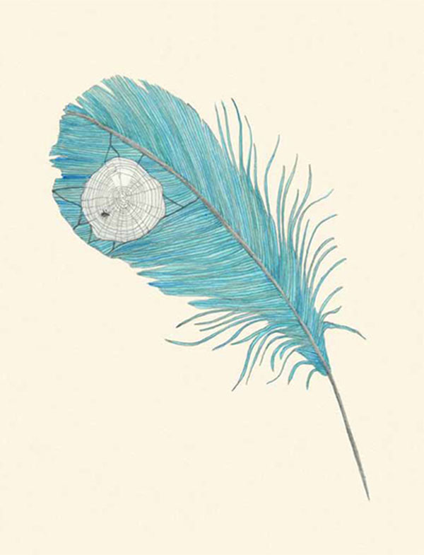 """A feather is trimmed, it is trimmed by the light and the bug and the post, it is trimmed by little leaning and by all sorts of mounted reserves and loud volumes. It is surely cohesive.""   From   Tender Buttons: Objects   by Gertrude Stein  Illustrated by Lisa Congdon    Head over to  Brain Pickings  to learn more about the collaboration and get a peek at the book."