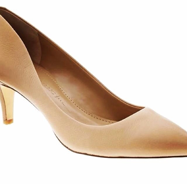 Giah Pump In Nude From Banana Republic