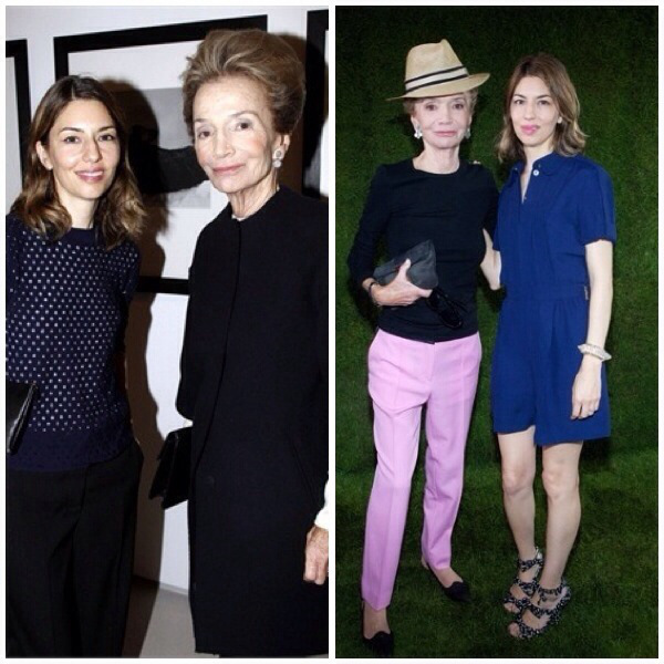 Lee and Sofia Coppola
