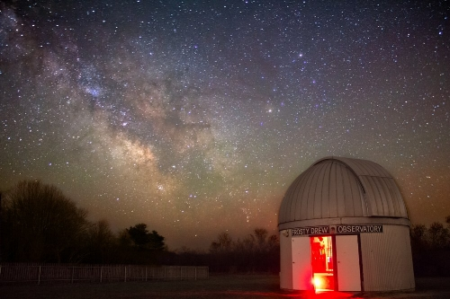 Photo courtesy of the Frosty Drew Observatory Facebook & Twitter pages.
