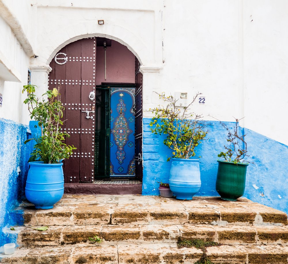 Photo from Kasbah of the udayas, Rabat, Morocco