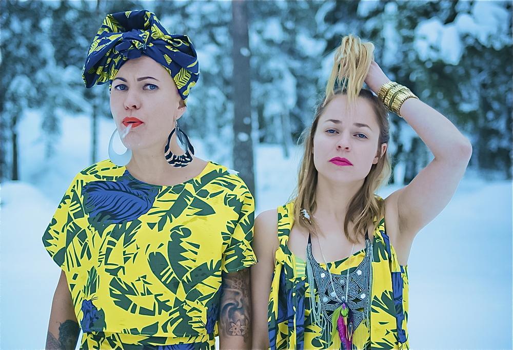Kaksitvå:  Holiday Banana , for pop duo PMMP, 2012, (c)  Tuomas Järvelä & Miikka Lommi