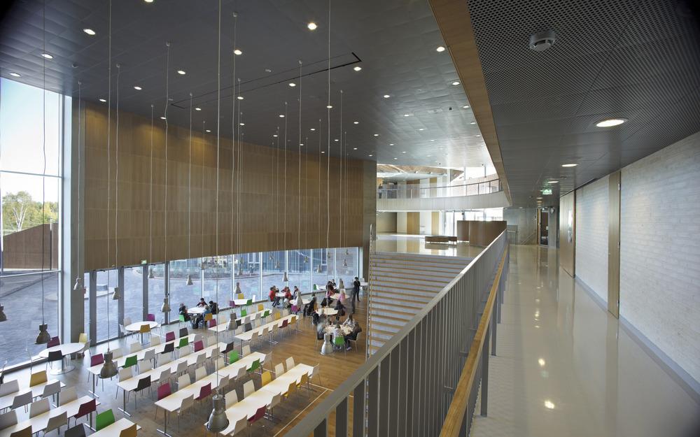 Verstas architects: Kirkkojärvi school, (c) Rauno Träskelin