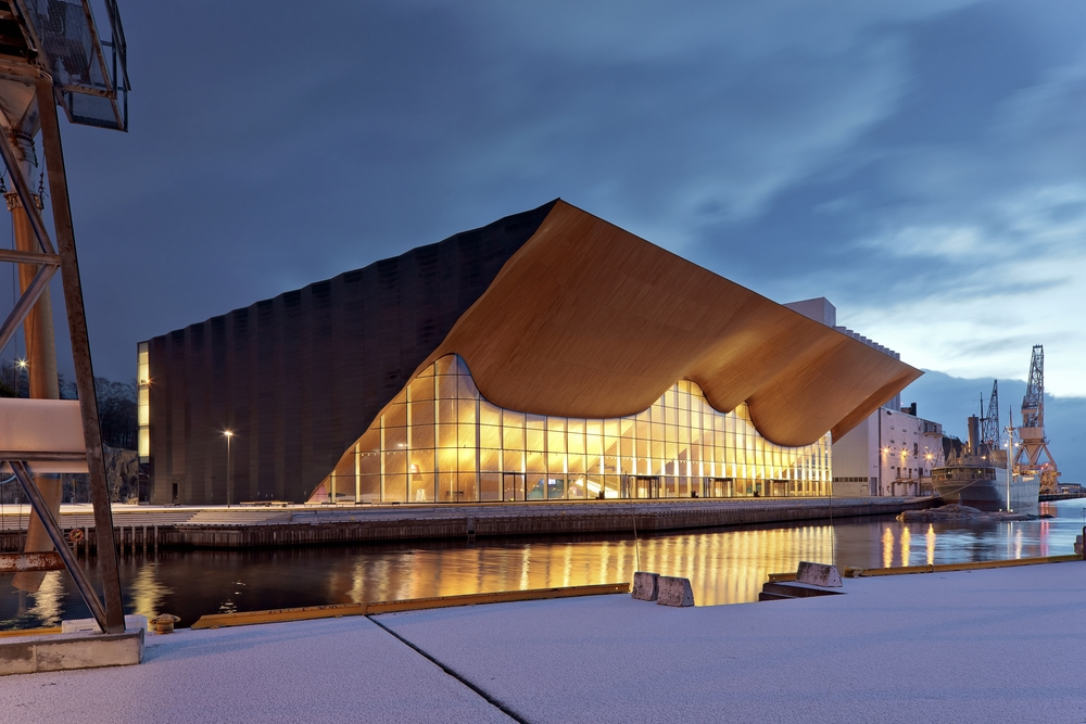 ALA architects:  Kilden Performing Arts Centre, Kristiansand, Norway, (c) Tuomas Uusheimo