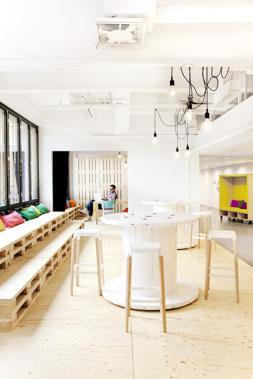 Katriina Lankinen and Tuomas Siitonen: interior design for advertising agency 358, 2010 (c) Jarkko Virtanen