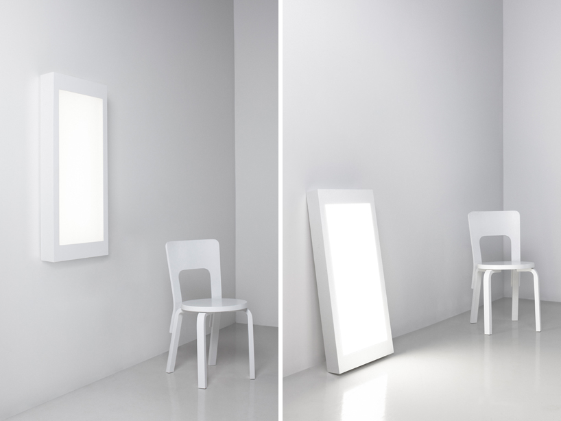 Ville Kokkonen: Wall and floor lamp WHITE 2 for Artek, 2010