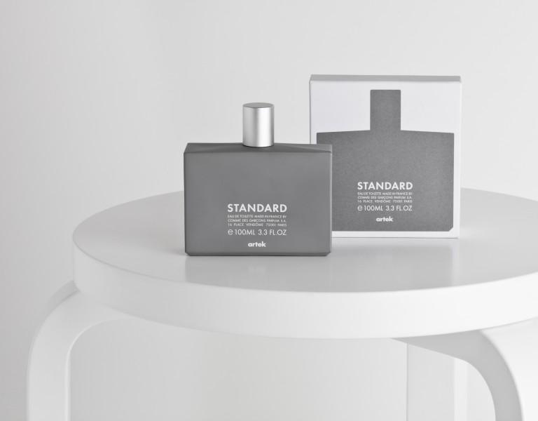Artek Standard perfume.Concept: artek, produced by Comme des Garçons Parfums