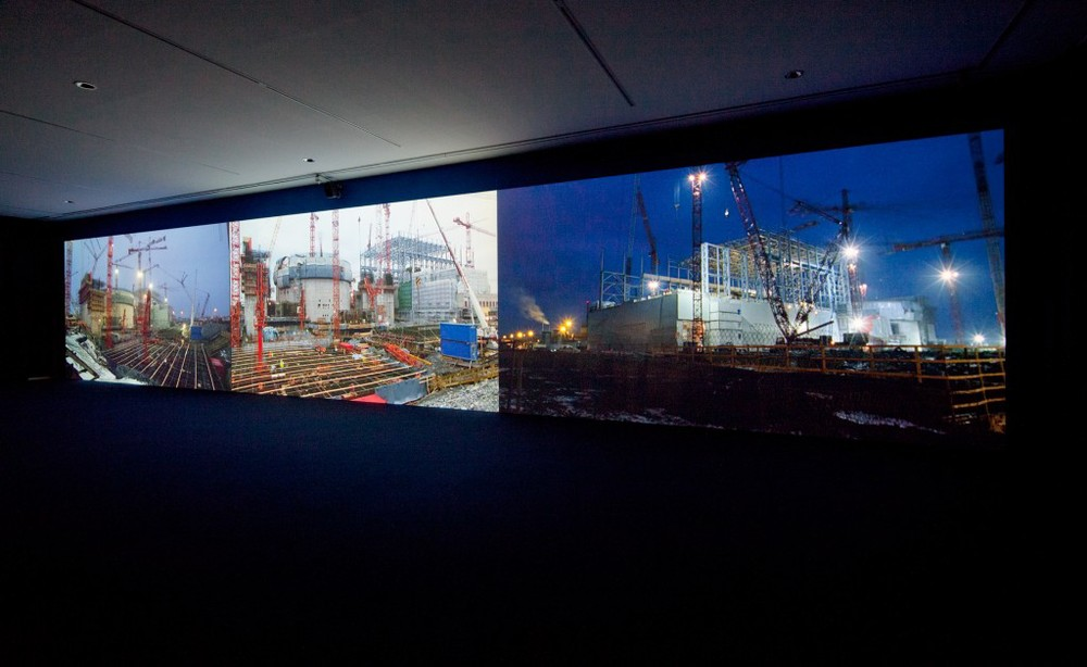 Mika Taanila: The Most Electrified Town In Finland on show at dOCUMENTA (13). (c) Anders Sune Berg