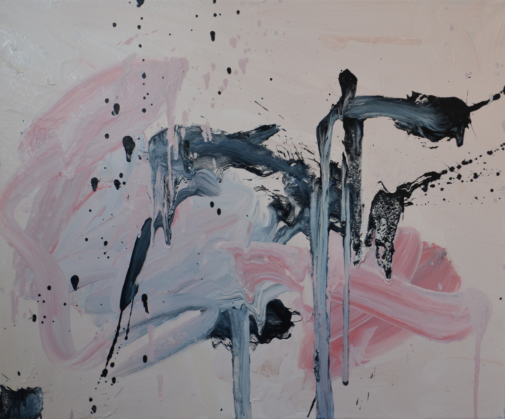 Elina Aho: from the series  Extended Body , 2012, oil on canvas