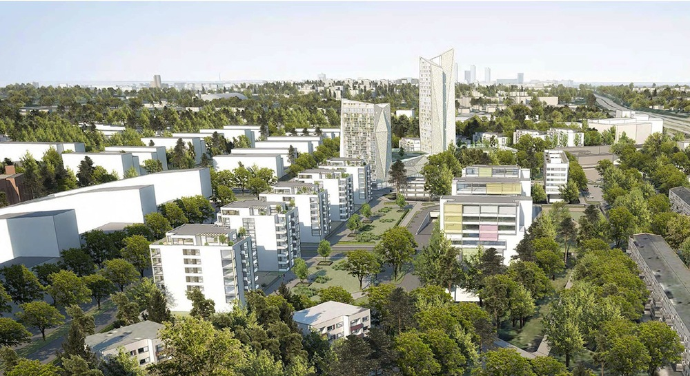 Plan for high-rise buildings in Espoo, Finland. Image: City of Espoo