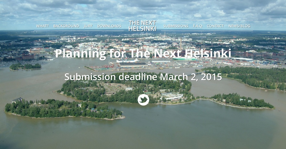 The Next Helsinki   competition seeks alternative visions for Helsinki art and city planning strategies.