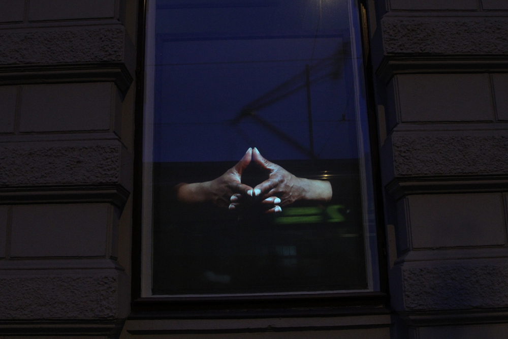 Heidi Tikka: At Hand, Video Installation, 2014.