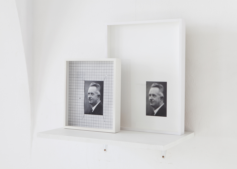 Juuso Noronkoski & Mikko Rikala, Pleased With Modernism (2015), Two pigment prints, 40 x 30cm & 27 x 23cm
