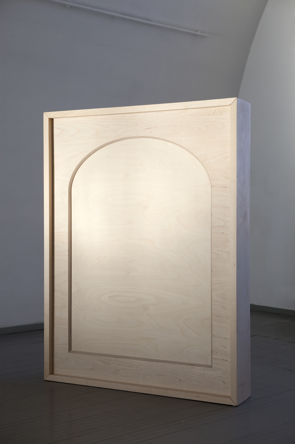 Tanja Koljonen, Sentiment (2015), Sculpture, wood, 135 cm x 105 x 20 cm