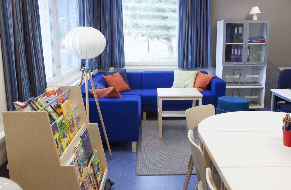 Leppätie Elementary School in (Sipoo) 2012. Photo: Henna Aaltonen