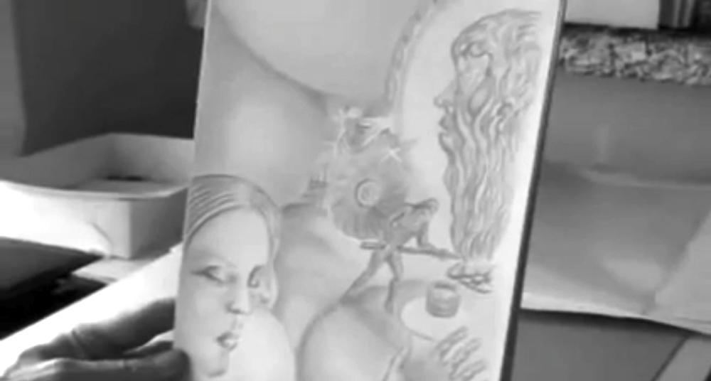Erkki Pirtola,  Shaman Johannes Setälä , 2010, still from a video. Image courtesy the artist.