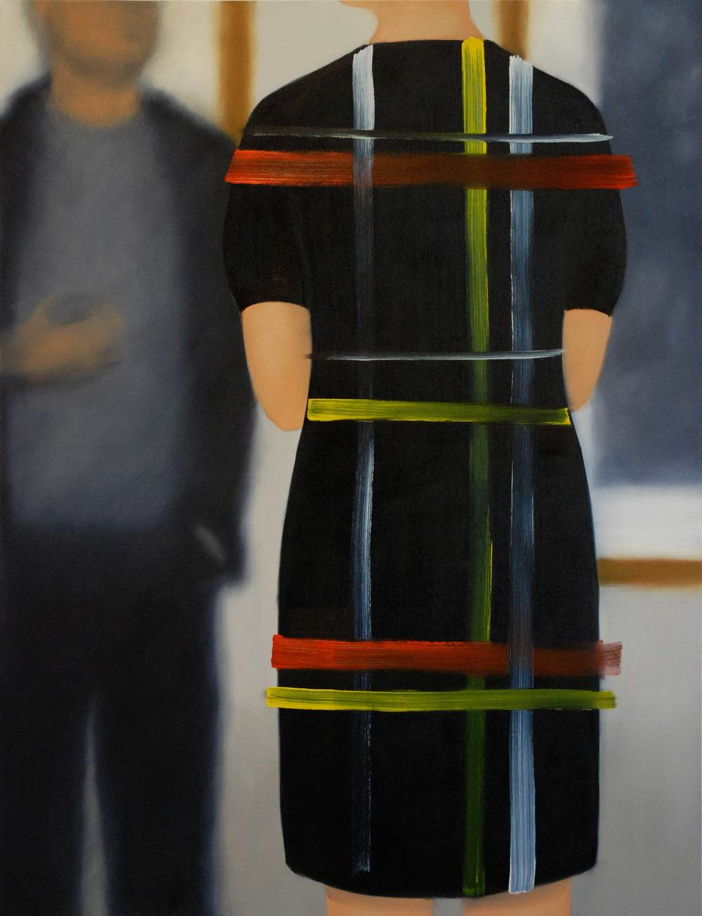 Henni Alftan: The Opening / Le vernissage, 2014, oil on canvas.