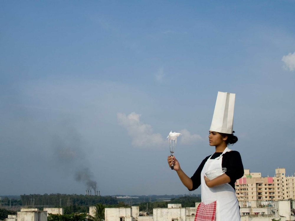 Smog Tasting in Bangalore, image courtesy the Center for Genomic Gastronomy