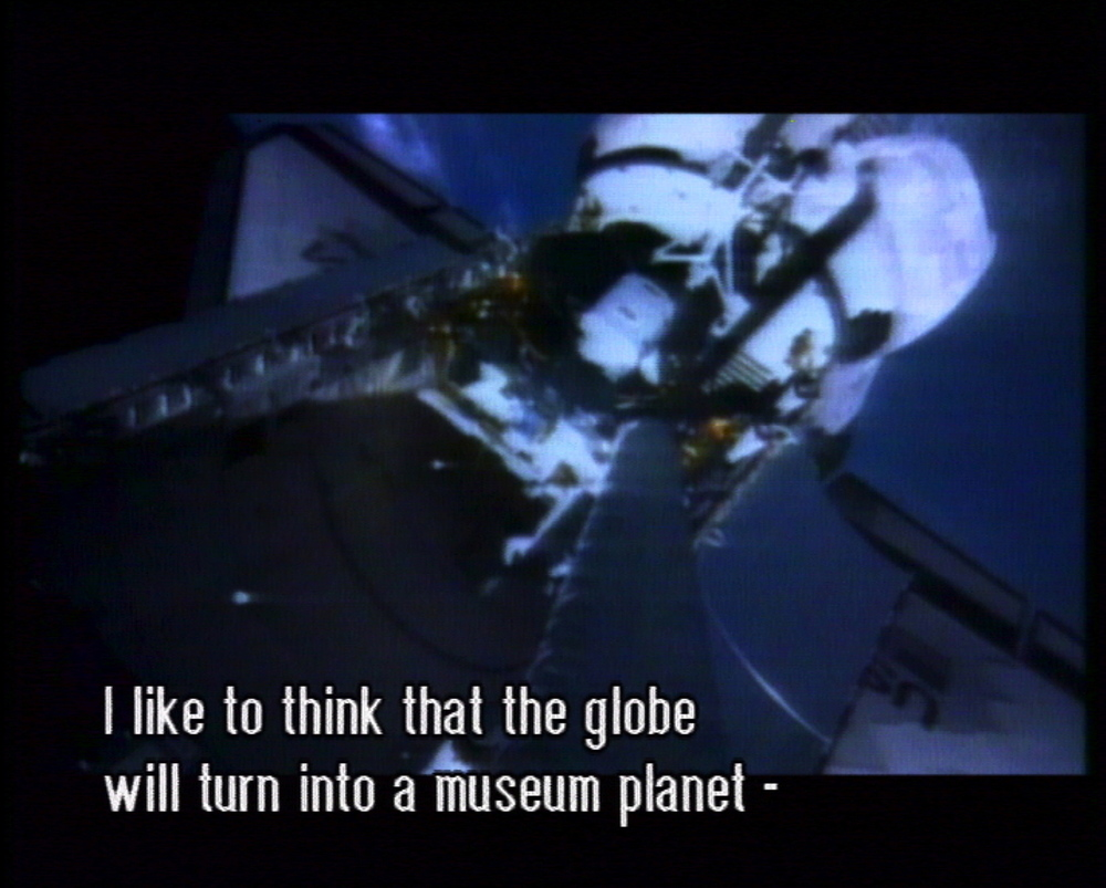 Mika Taanila, The Future Is Not What It Used To Be, still from video, 2002 . As part of The Powers That Be.