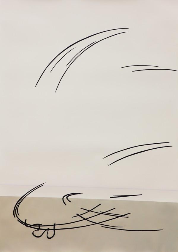 Maija Luutonen, Return, 2014. Acrylic on paper. Courtesy the artist.